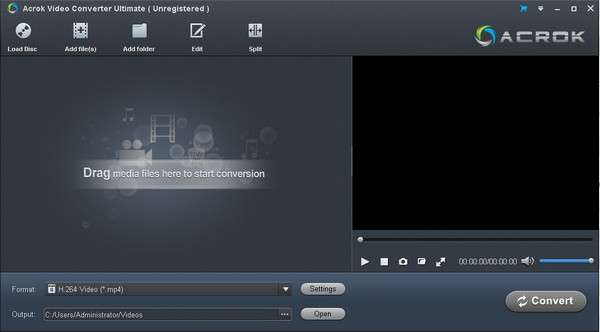 Acrok vVideo Converter Ultimate 6.7.105 免费版
