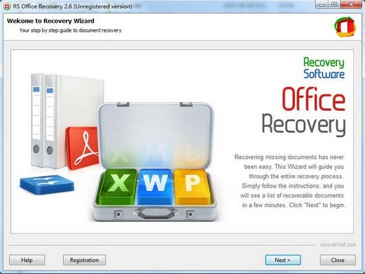 RS vOffice Recovery 2.6 官方版