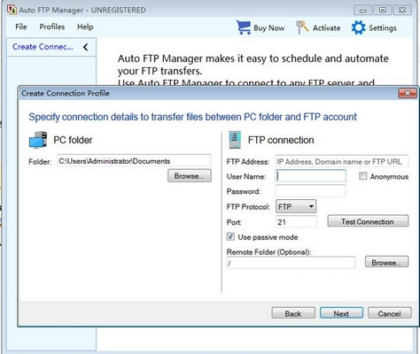Auto vFTP Manager 7.0.7.0 官方版